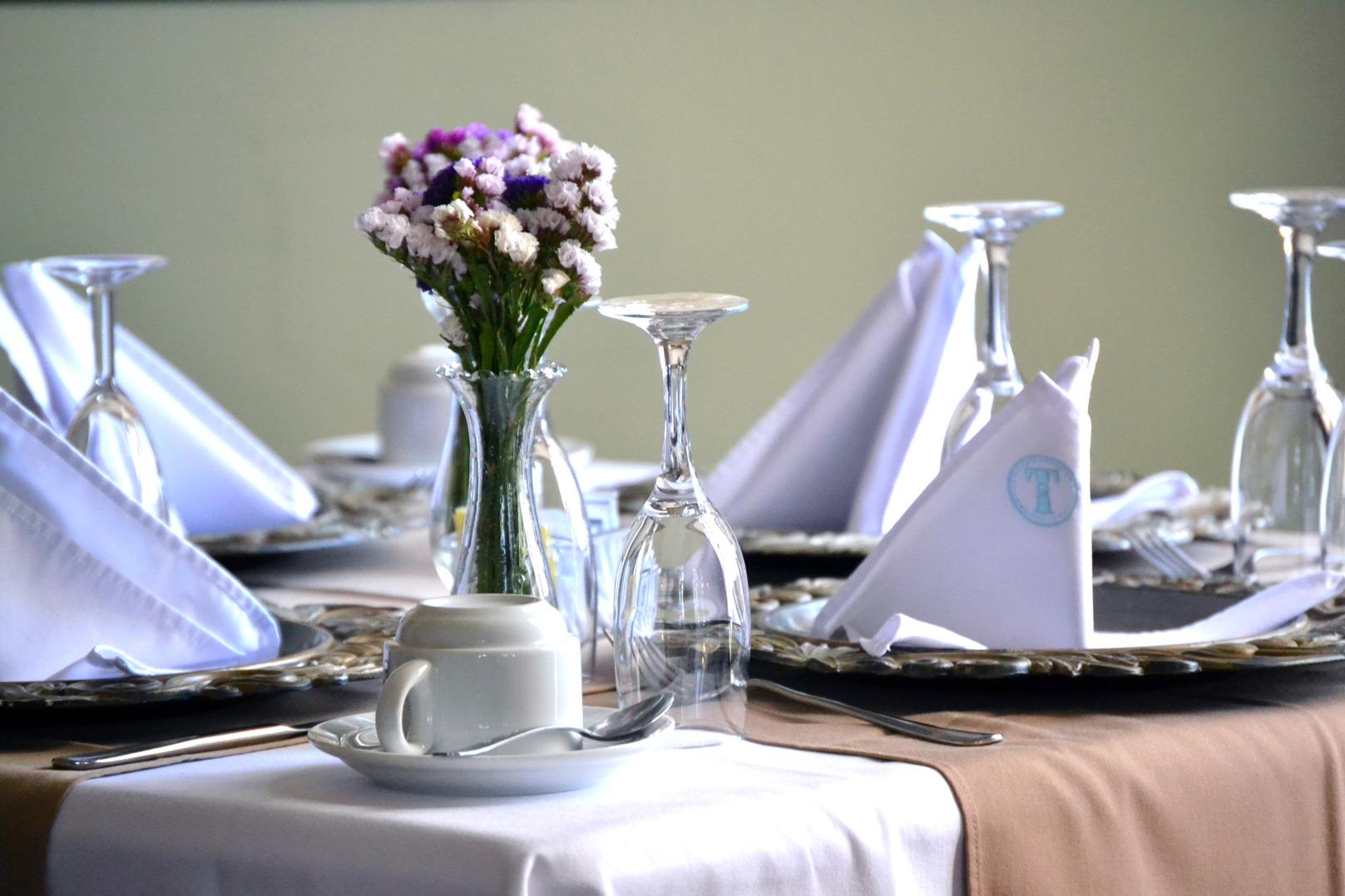Mesa en Tertulianos Restaurante Museo