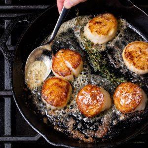 scallops-clases-cocina-evolu-biba-sangrias-circuito-chefs-premium-foods