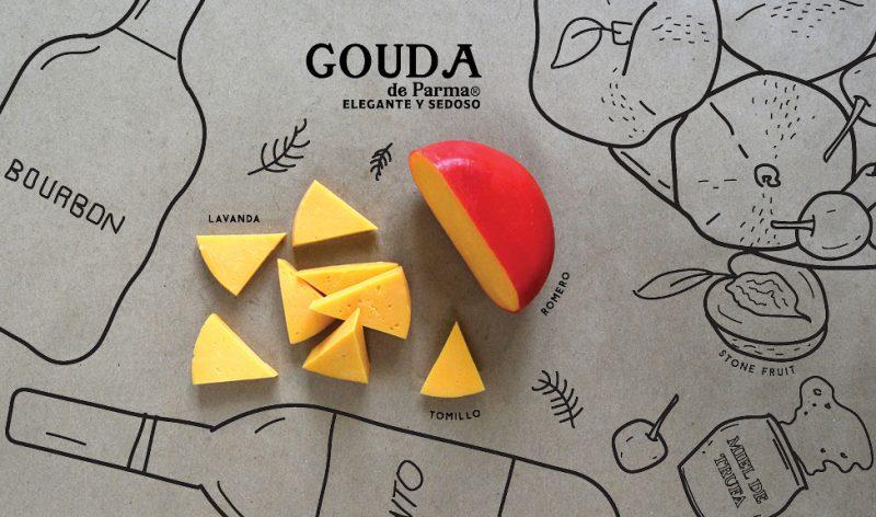parma-quesos-para-compartir-disfrutar-debora-fadul-foodie-tour-queso-gouda-elegante-sedoso-bourbon-tomillo-lavanda-romero-stone-fruit-miel-trufa