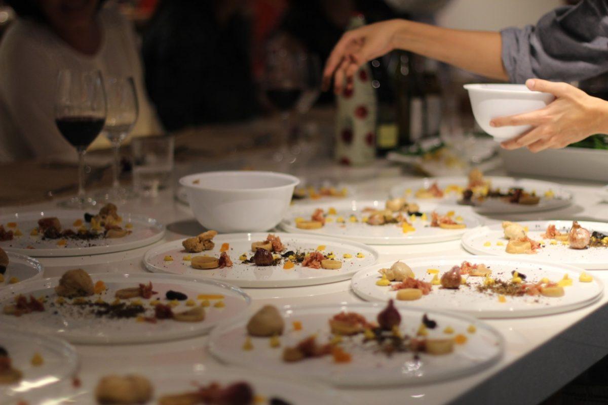 Platos de evento privado Chef Mon Coeur