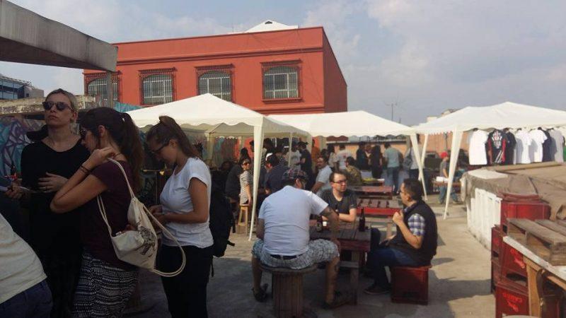 mazorca-feria-cultural-centro-domingo-terraza-proyecto-poporopo-pablo-bromo