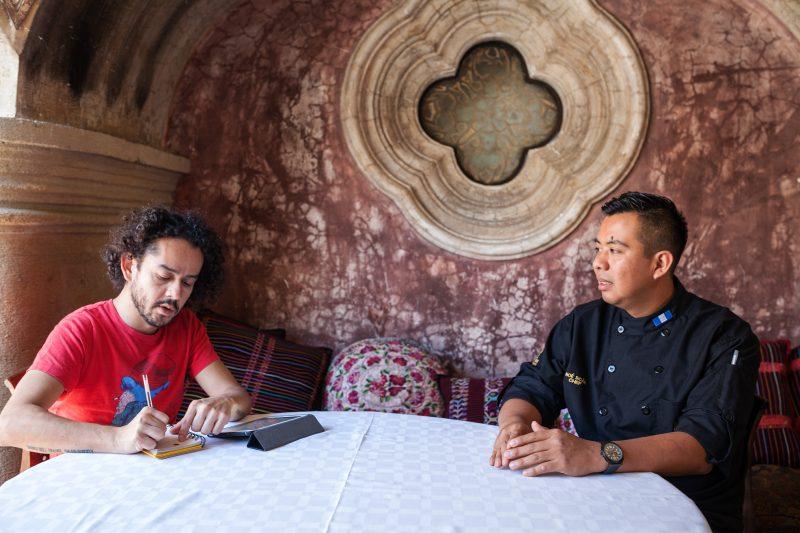 Entrevista al Chef Noé Sicán