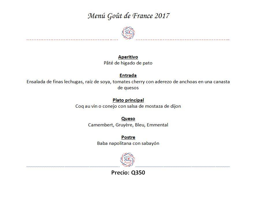 menu-bistro-bourbon-gout-de-france-good-france-sabores-de-francia-menu-especial-marzo