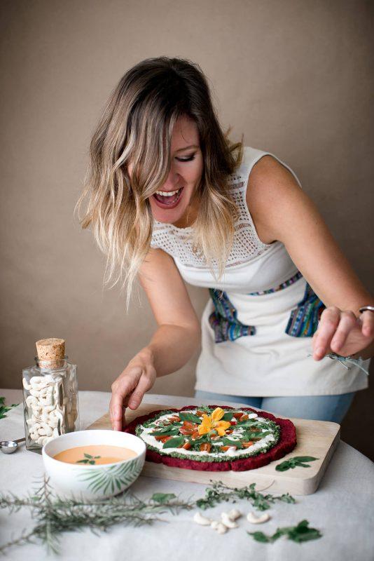 Kassia Fiedor, herbolaria, nutricionista y chef privada