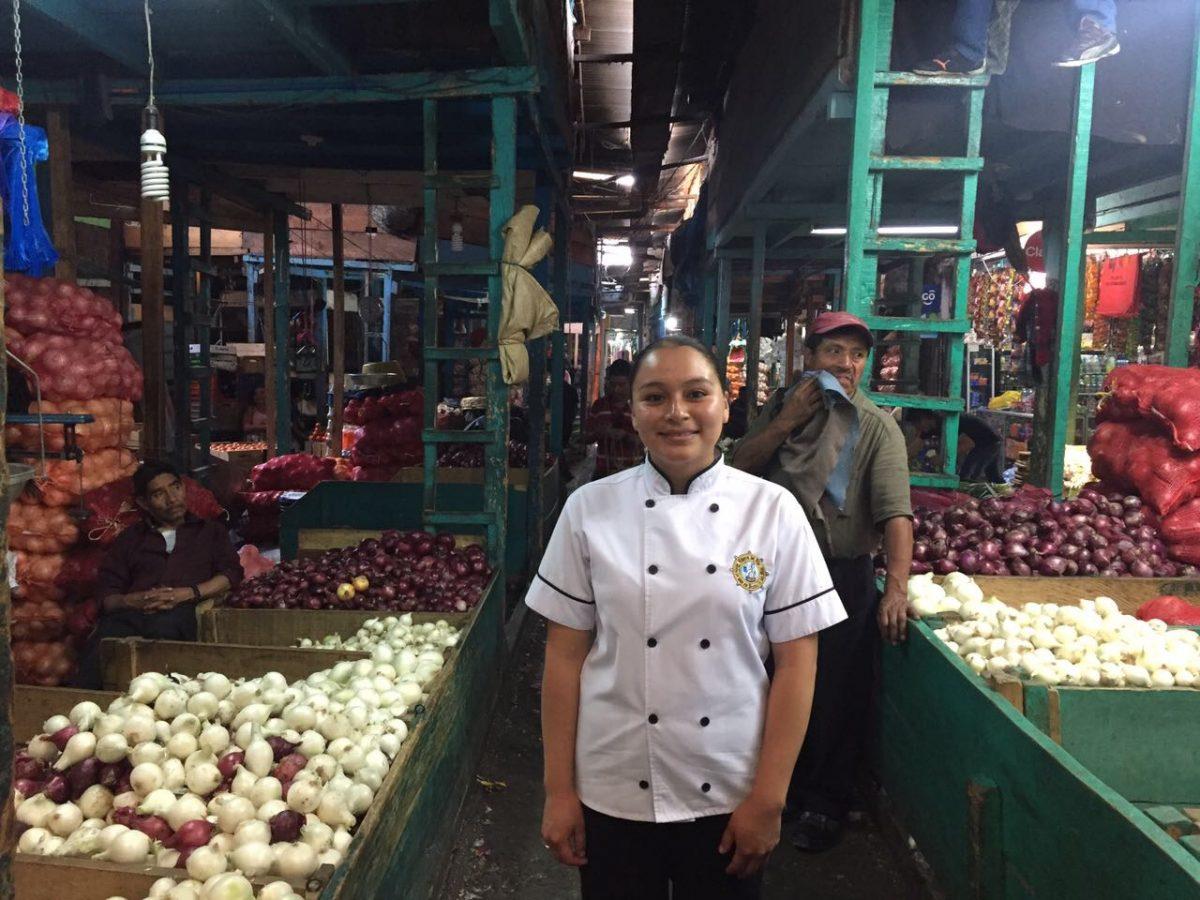 Chef Laura Chávez, de Ribera del Río, en La Terminal