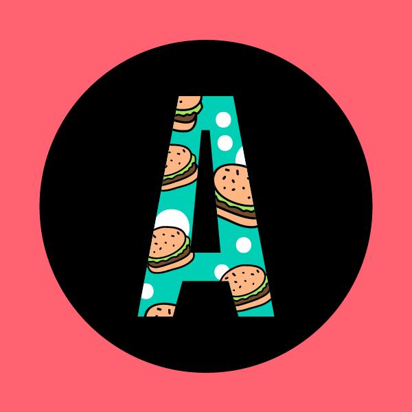 """logo_Restaurante Americana: El lugar de las hamburguesas """"groseras"""""""