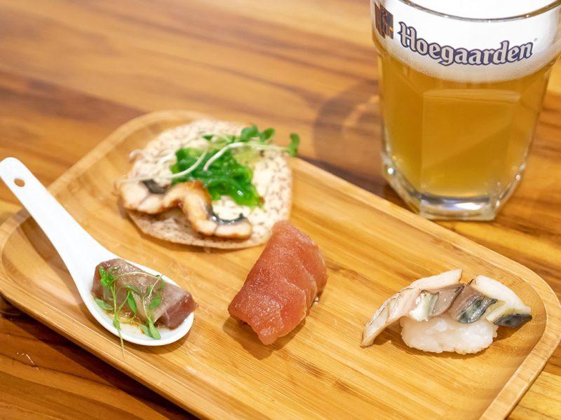 Nigiris y Sushi Rolls - Ikura